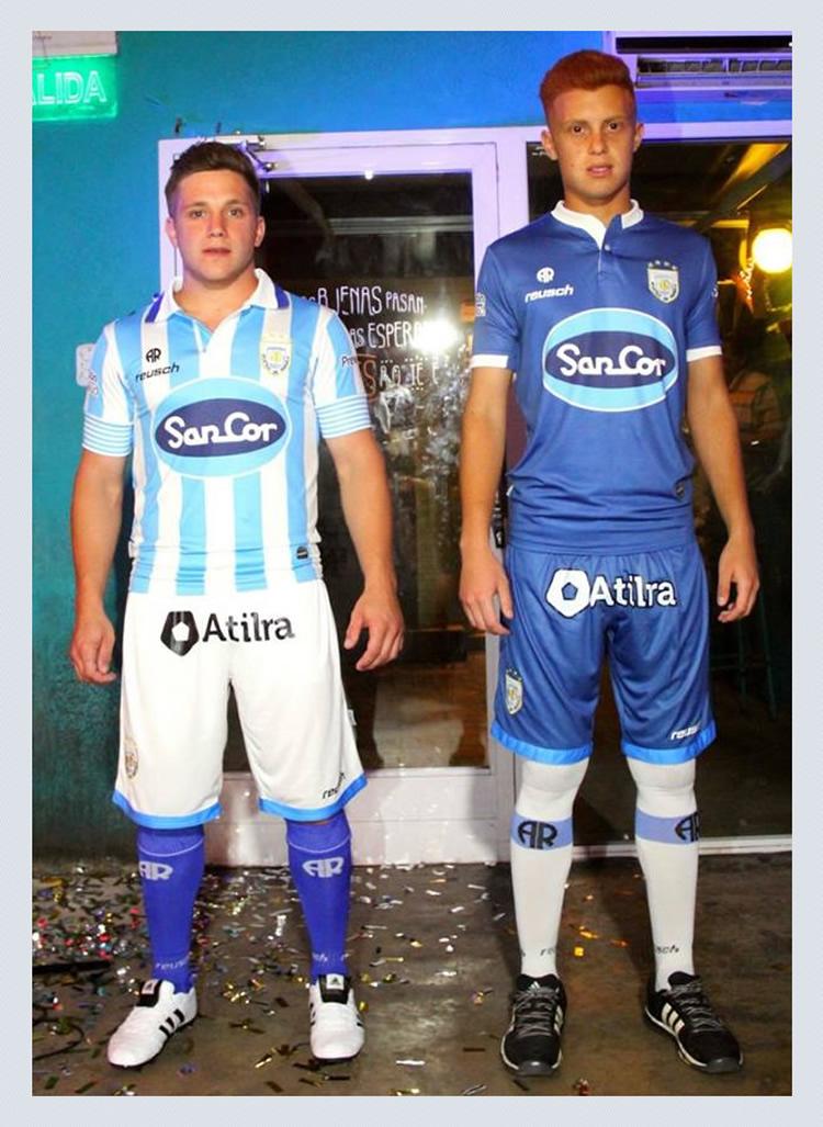 Nuevas casacas de Atlético de Rafaela | Foto Reusch