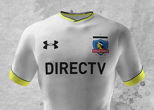Nueva camiseta del Colo Colo | Foto Under Armour
