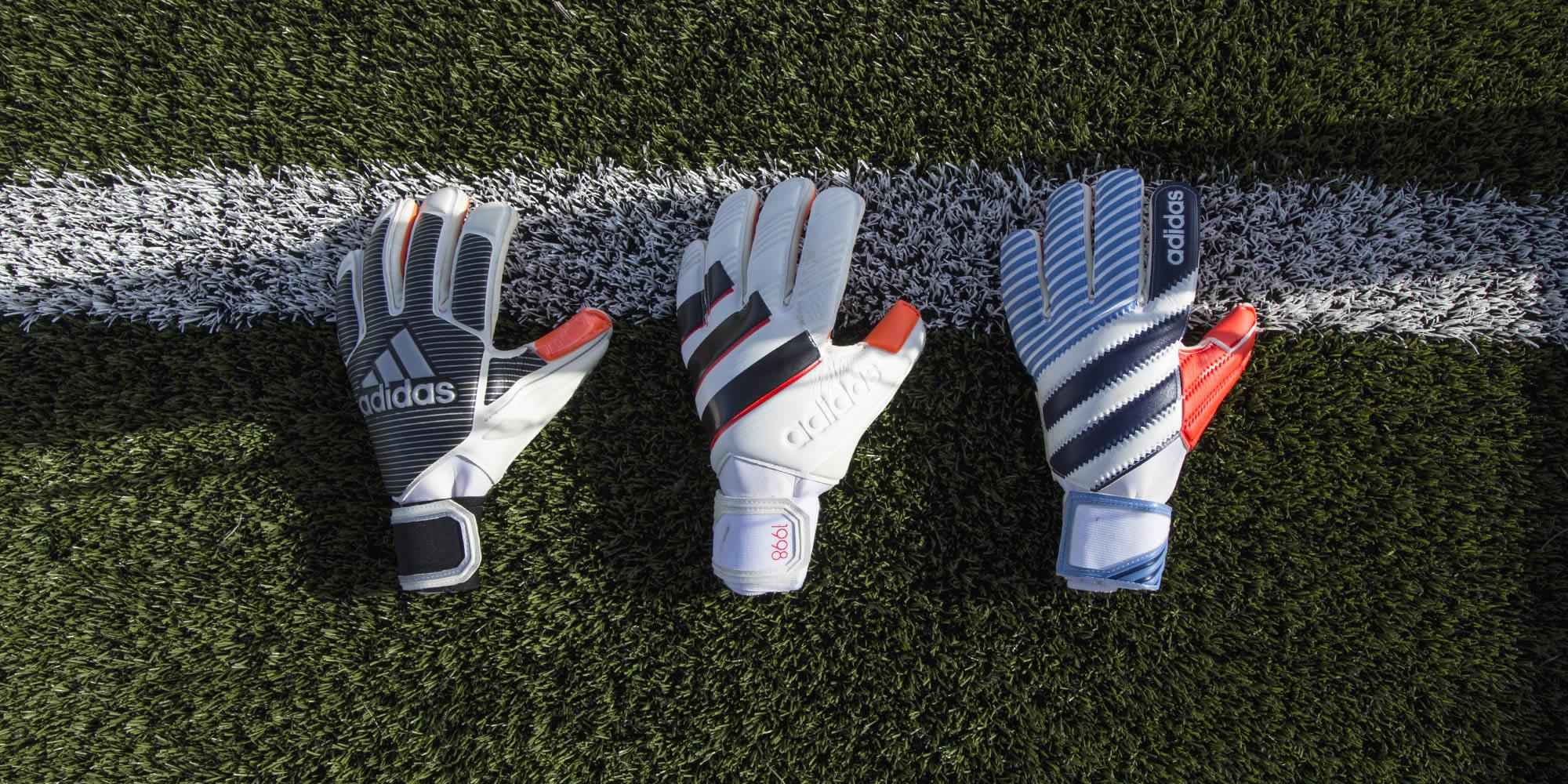 """""""History Pack"""" de los guantes Adidas"""