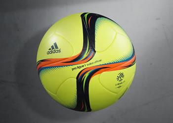 Balón de invierno de la Ligue 1 | Foto Adidas