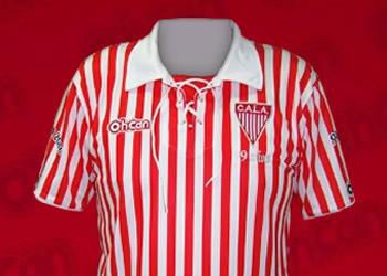 Camiseta especial de Los Andes | Foto Web Oficial