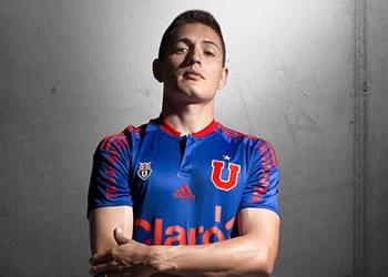 Nueva camiseta de la U de Chile | Foto Web Oficial