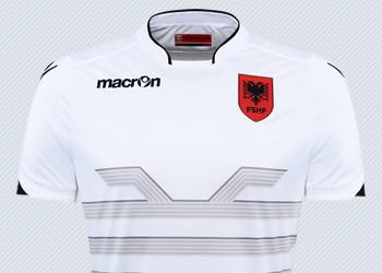 Camiseta suplente de Albania | Imágenes Macron