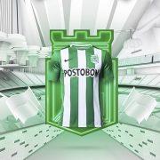 Nueva camiseta titular Nike del Atlético Nacional | Foto Tienda Oficial