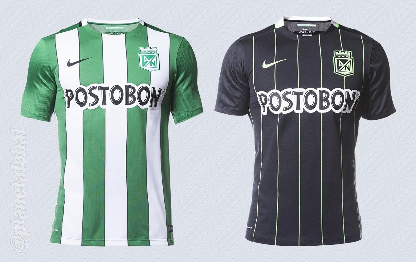Nuevas camisetas Nike del Atlético Nacional | Imágenes Tienda Oficial