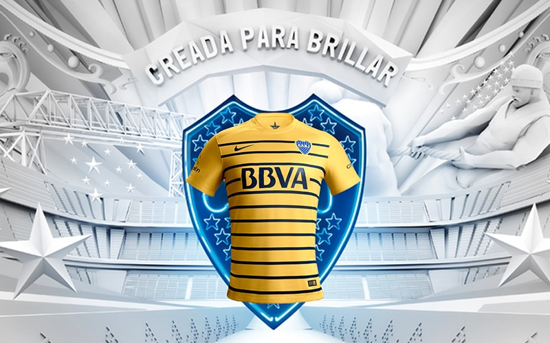 Nueva camiseta de Boca | Foto Sitio Oficial