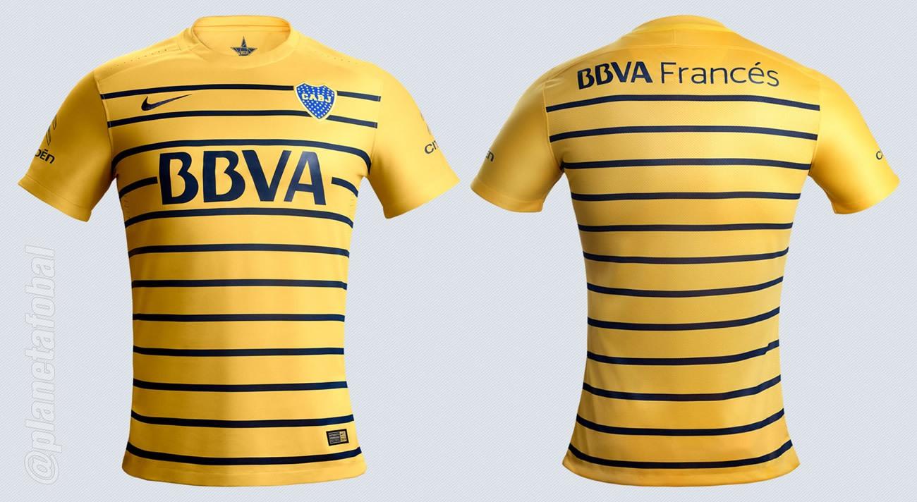 Nueva camiseta de Boca | Imágenes Sitio Oficial