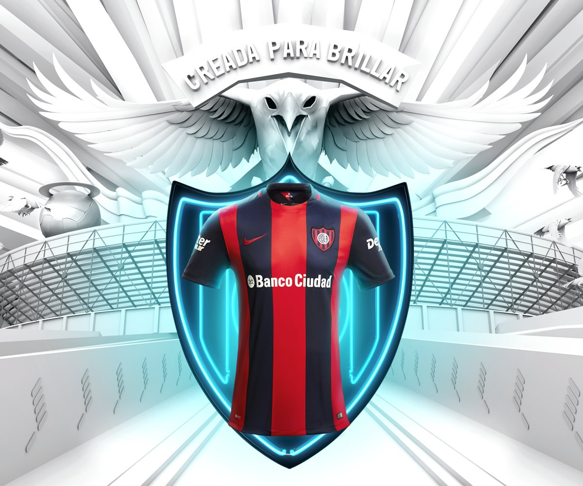 Nueva camiseta titular Nike de San Lorenzo para 2016 | Foto Facebook Oficial