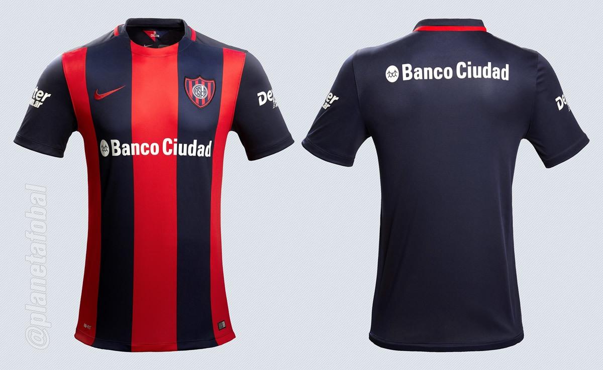 Nueva camiseta titular Nike de San Lorenzo para 2016 | Imágenes Diario Olé