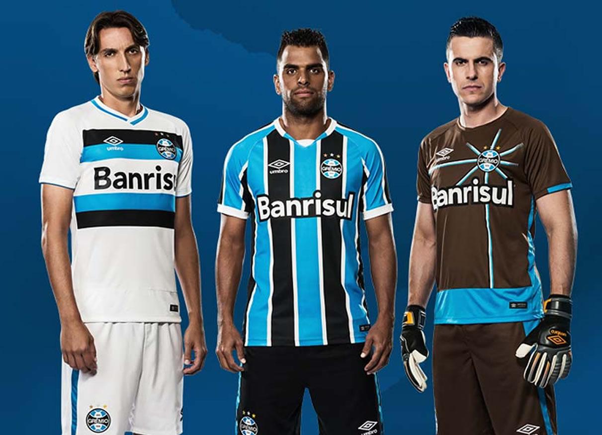 Nueva camisetas de Gremio para 2016 | Foto Umbro Brasil