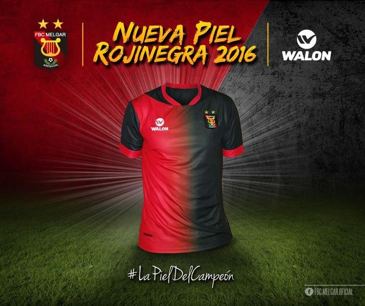 Nueva casaca del Melgar | Foto Web Oficial