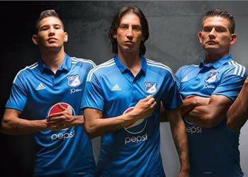 Nueva camiseta de Millonarios para 2016 | Foto @NoticiasMillos