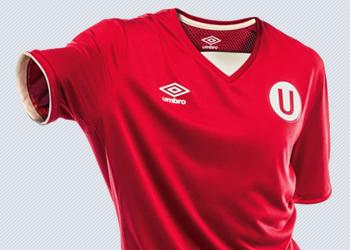 Nueva camiseta suplente del Club Universitario | Foto Umbro Perú
