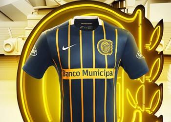 Camiseta titular de Rosario Central para 2016 | Imagen Nike