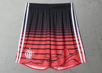 Así lucen los llamativos pantalones de la tercera camiseta de Flamengo | Foto Tienda Oficial