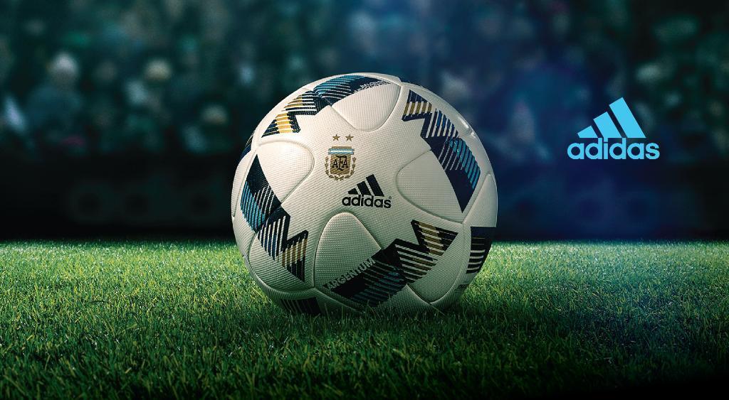 Balón oficial Adidas Argentum de AFA para 2016 | Foto Adidas