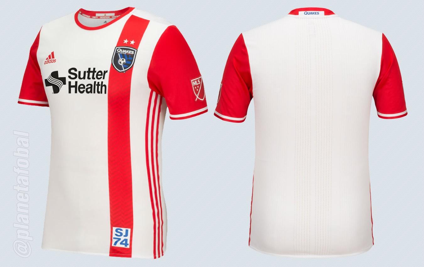 Nueva casaca de San Jose   Imágenes MLS