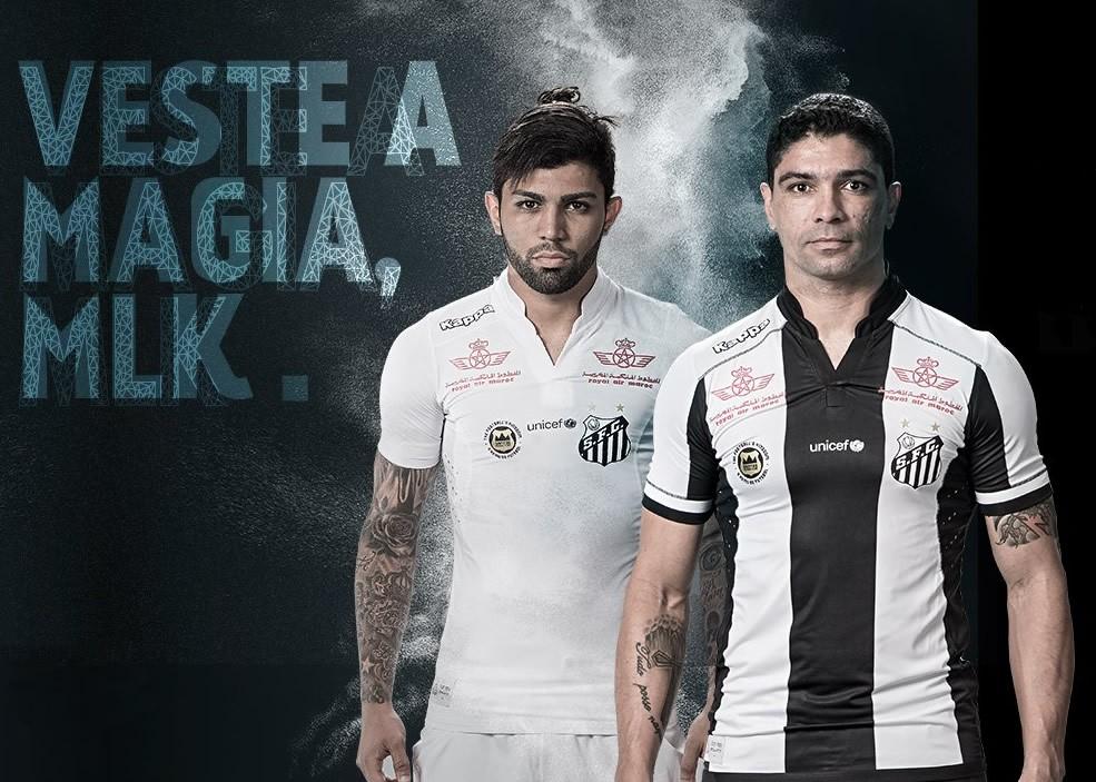 Nuevas casacas del Santos | Foto Web Oficial