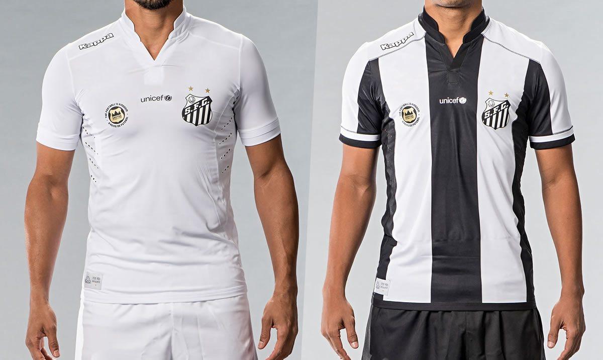 Nuevas casacas del Santos | Imágenes Tienda Oficial