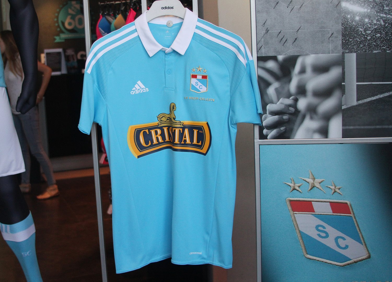 Nueva camiseta titular del Sporting Cristal | Foto Web Oficial