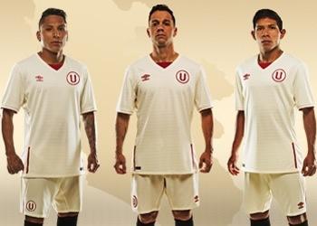 Nueva camiseta titular del Club Universitario | Foto Umbro Perú