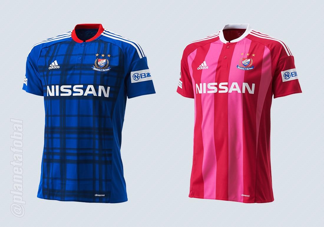 Nuevas casacas del Yokohama Marinos | Imágenes Web Oficial