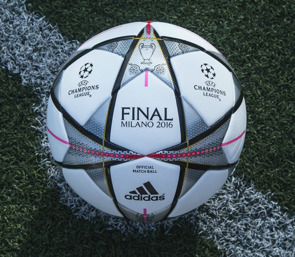 Bal n adidas finale milano 2016 uefa champions league for Milano 2016