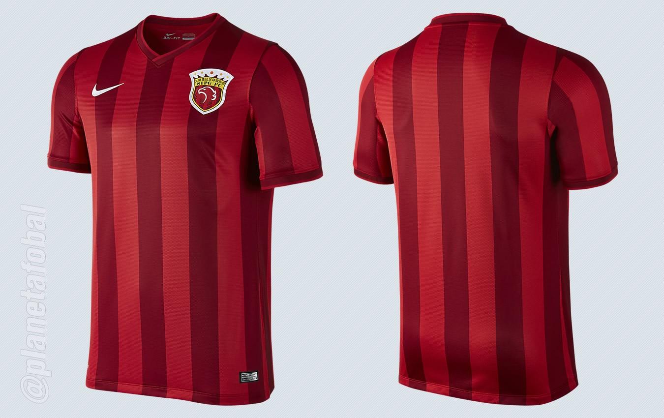 Camiseta titular del Shanghai SIPG para 2016   Imágenes Nike