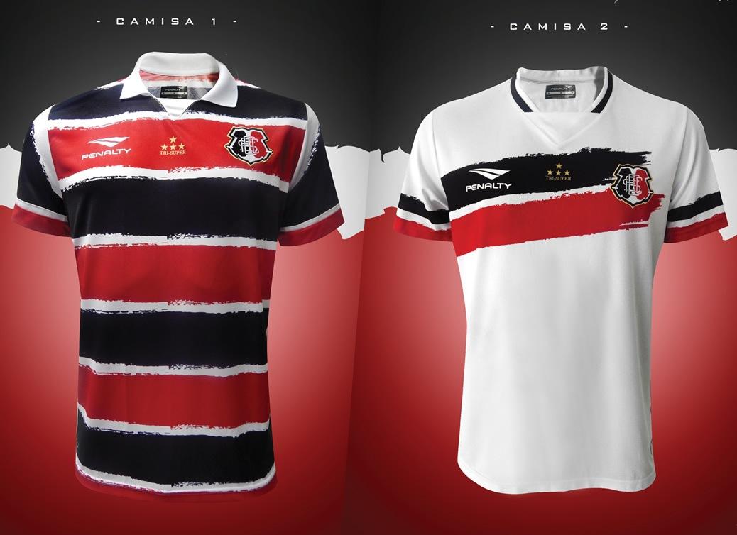 Camisetas Penalty del Santa Cruz Futebol Clube para 2016 || Imágenes Penalty