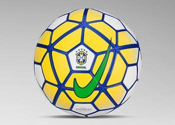 Balón oficial los torneos de la CBF | Imagen O Globo