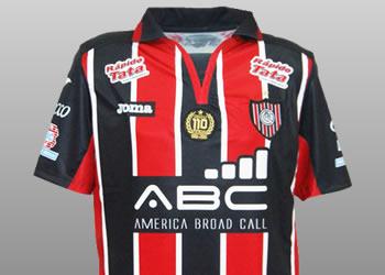 Nueva camiseta de Chacarita | Foto Twitter @ndcannolo