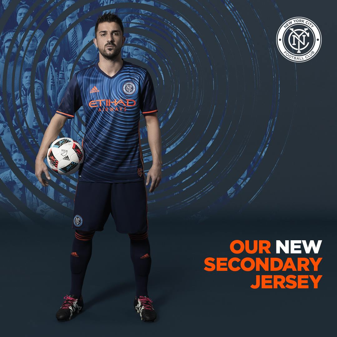 Camiseta suplente del New York City | Foto Web Oficial