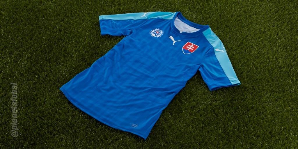Nueva casaca de Eslovaquia | Foto Puma