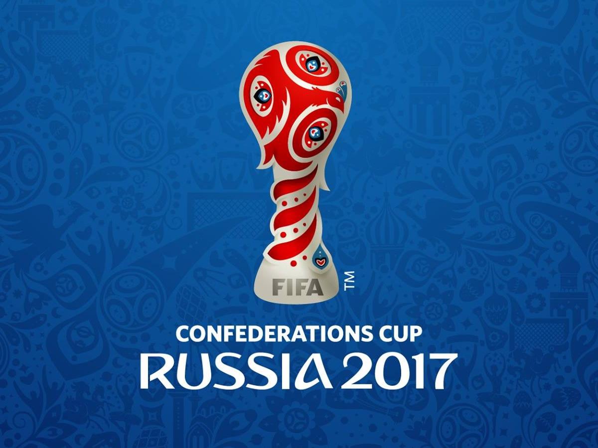 emblema oficial de la copa confederaciones rusia 2017