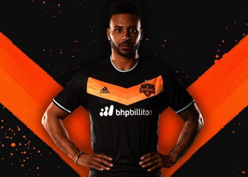Nueva camiseta suplente Adidas del Houston Dynamo | Imagen web oficial