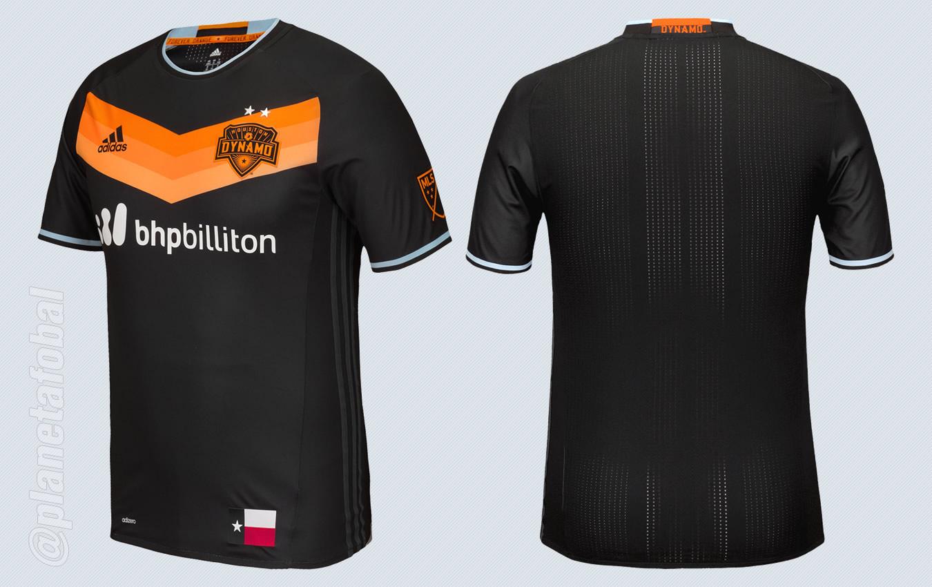 Camiseta suplente del Houston Dynamo para 2016 | Imágenes web oficial MLS