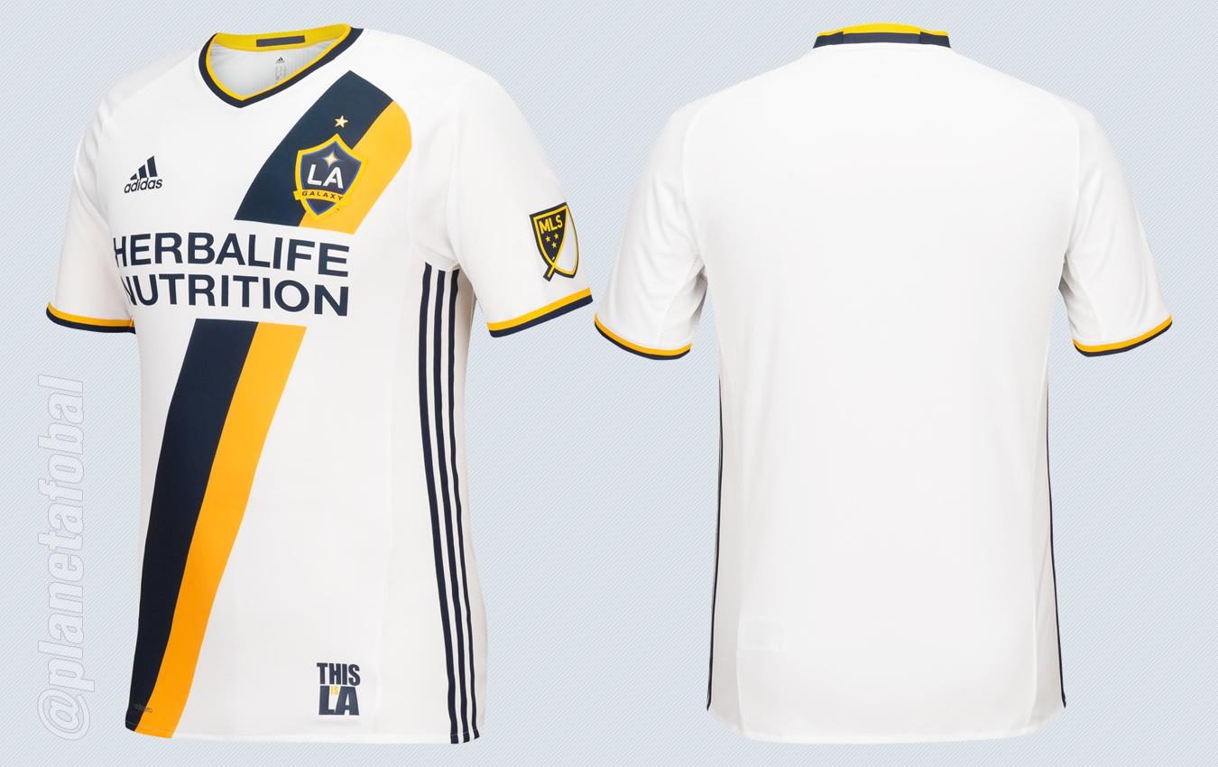 Nueva camiseta del Galaxy | Imágenes Web MLS