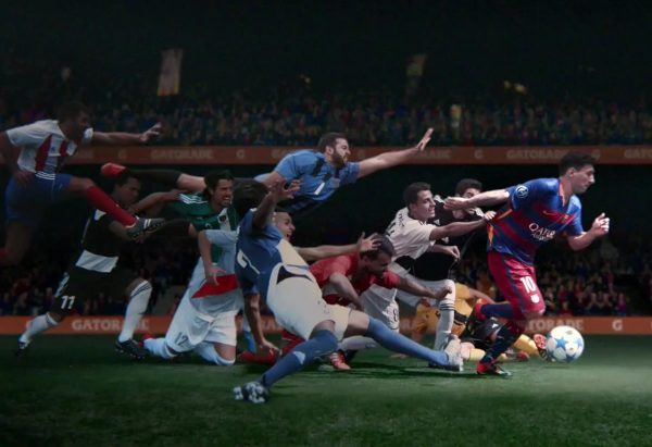 Nuevo comercial de Gatorade con Lionel Messi