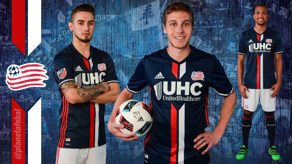 Nueva camiseta del New England Revolution | Foto Web Oficial