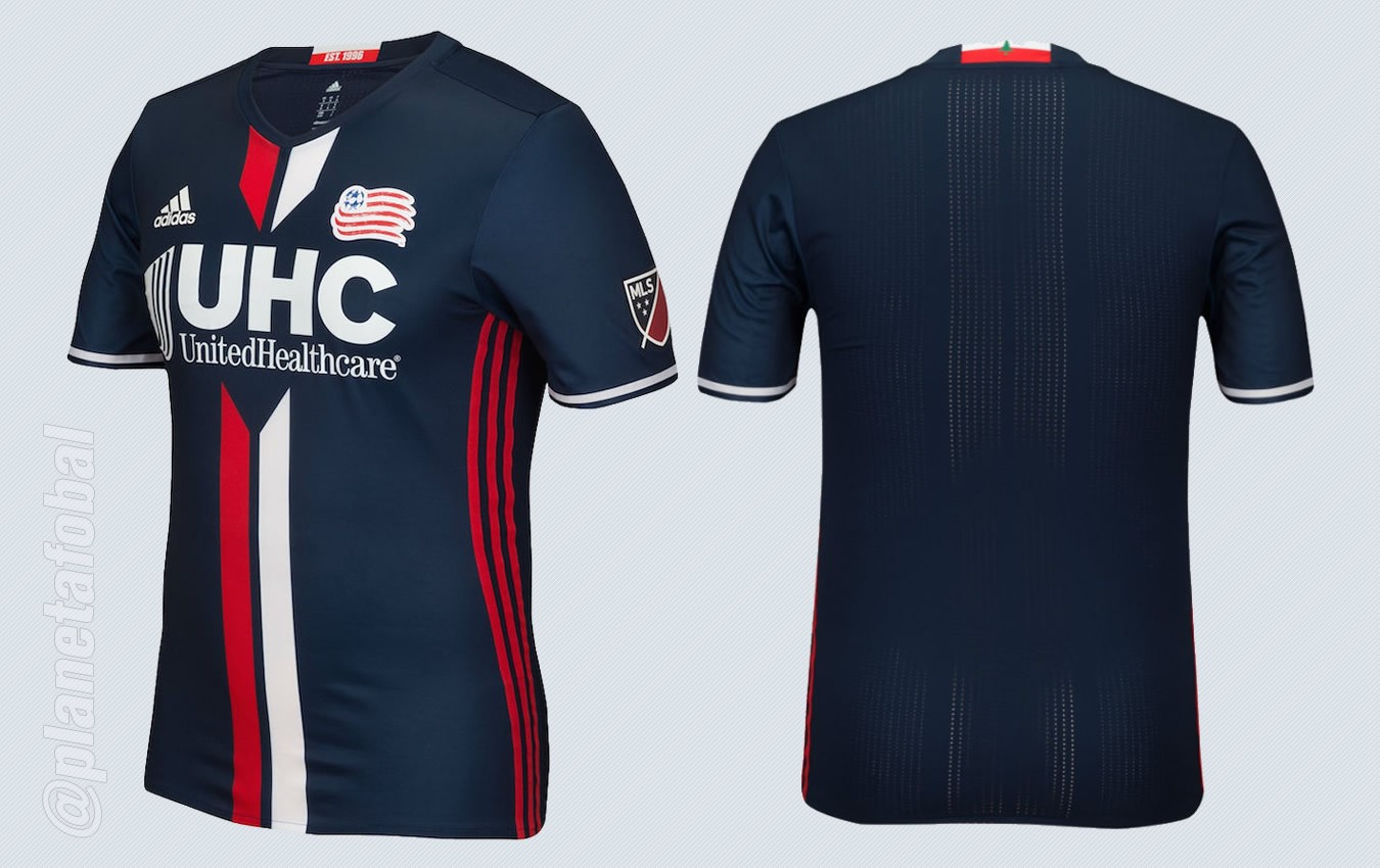 Nueva camiseta del New England Revolution | Imágenes Tienda Oficial