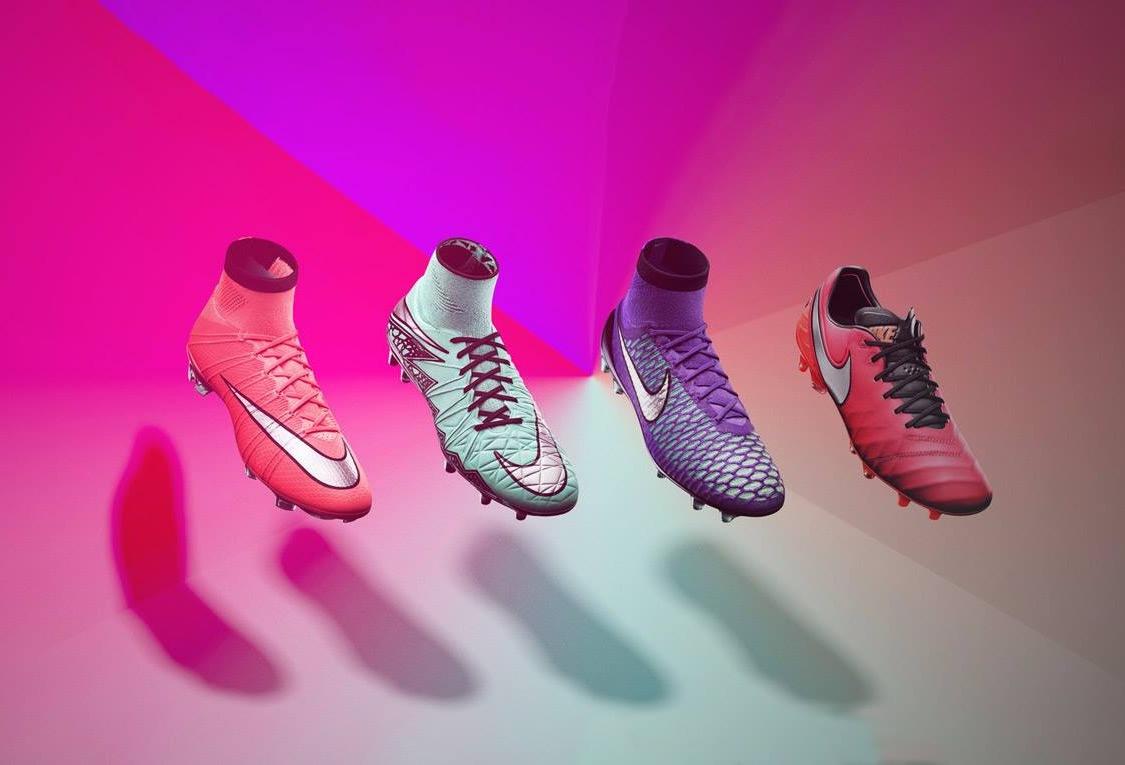 Nueva colección de botines Nike