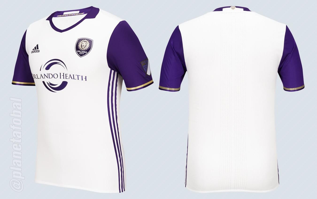 Camiseta suplente del Orlando City para la MLS 2016 | Imágenes Tienda Oficial