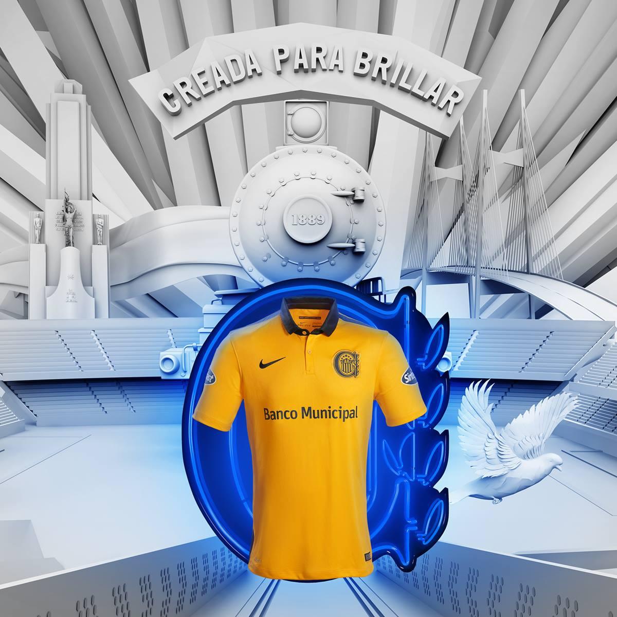 Nueva camiseta de Rosario Central | Foto Nike