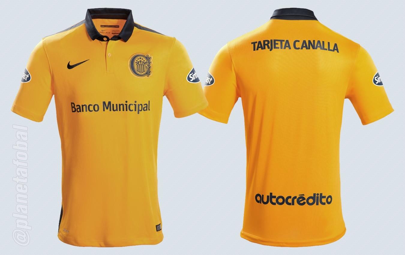 Nueva camiseta de Rosario Central | Imágenes Nike