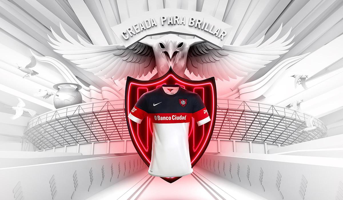 Nueva camiseta de San Lorenzo | Foto Nike
