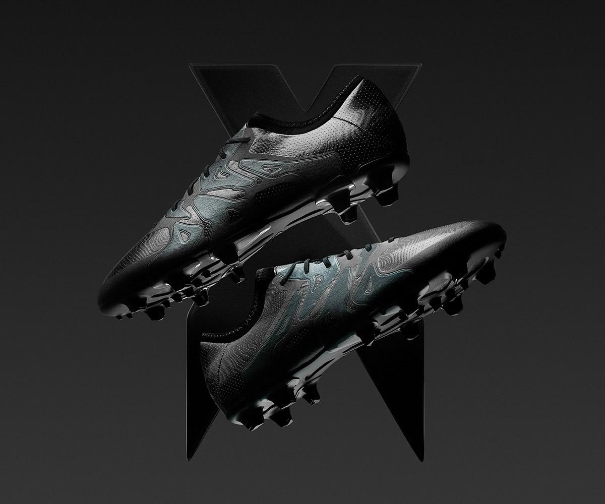 Versión Fluid Black de los X15 | Foto Adidas