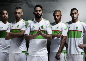 Casaca titular de Argelia | Foto FAF