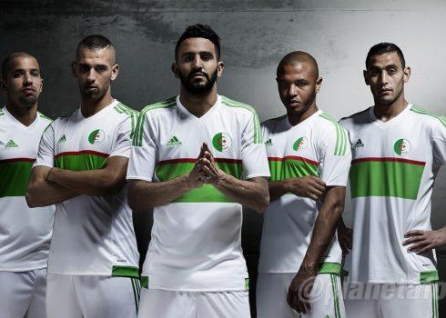 Casaca titular de Argelia   Foto FAF