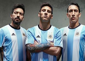 Camiseta titular Adidas de Argentina Copa América 2016