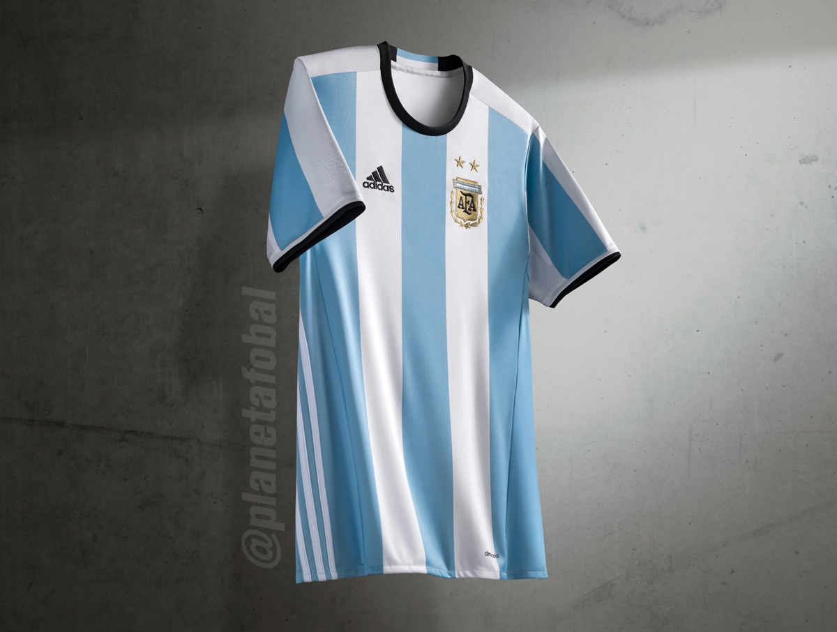Asi luce la nueva casaca de Argentina | Foto Adidas